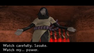(PCSX2) Naruto Uzumaki Chronicles Walkthrough (Ending) Part 26 Orochimaru Boss Battle (720p)