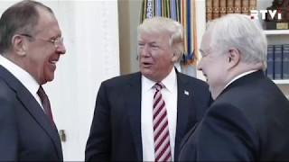 Cкандал вокруг фотографий со встречи Трампа с Лавровым и Кисляком