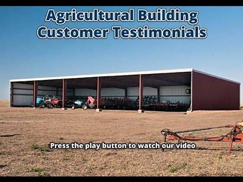 Steel Farm Building Storage
