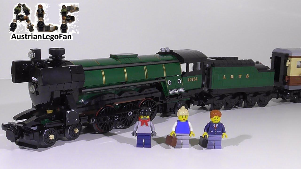 Lego Creator 10194 Emerald Night / Smaragdexpress - Lego ...