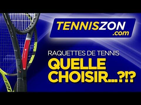Quelle Raquette de Tennis Choisir?