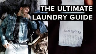 THE BEST WAY TO WASH YOUR CLOTHING  LAUNDRY GUIDE FOR GUYS