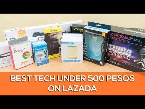 Best Tech Under 500 Pesos On Lazada