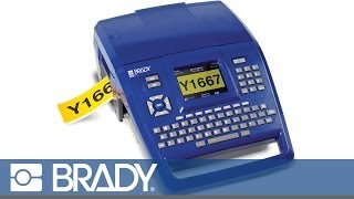 Brady's BMP®71 Label Printer Features Overview