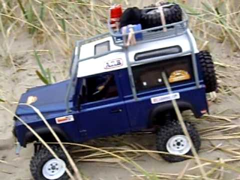 axial scx10 scale rc landrover 90 defender youtube. Black Bedroom Furniture Sets. Home Design Ideas