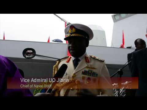 NIGERIA LAUNCH SECOND NAVAL VESSEL - NNS UNITY