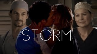 Storm // Meredith Grey and Andrew DeLuca