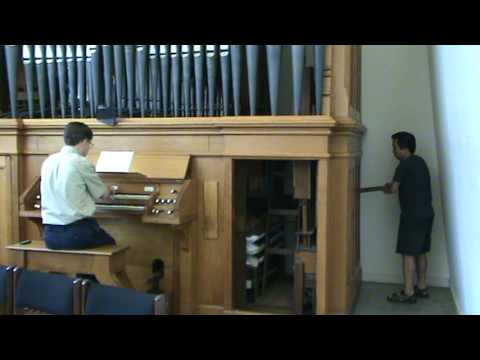 Handpumped Pipe Organ  YouTube