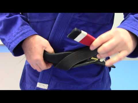 How to tie the perfect Gracie Hollywood / Super Lock BJJ Belt Knot