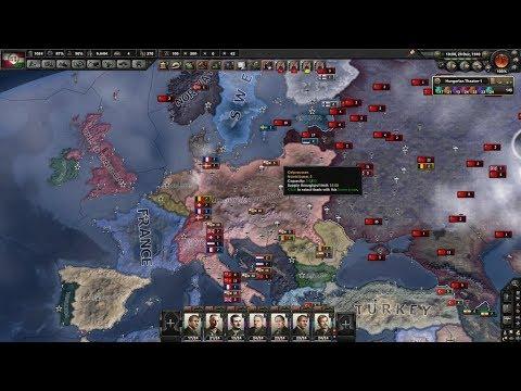 Hoi4 Timelape Rise of the Hungarian-Polish Commonwealth