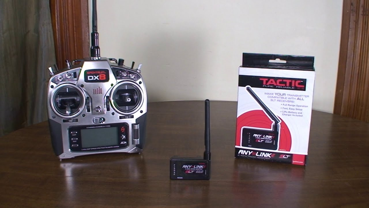 Tactic - AnyLink 2 - Review and Flight Demo (with Spektrum ...