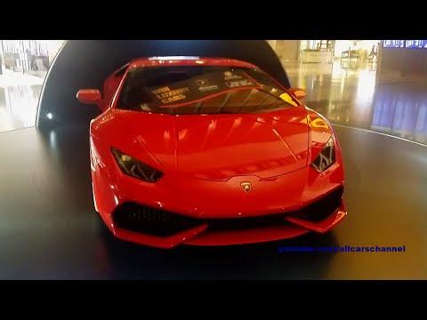 Qatar Duty Free Luxury Car Draw. 12C, Huracán and Continental GT V8S