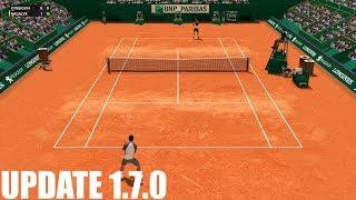 Full Ace Tennis Simulator - UPDATE 1.7.0 - Nick Kyrgios vs Rafael Nadal - PC Gameplay
