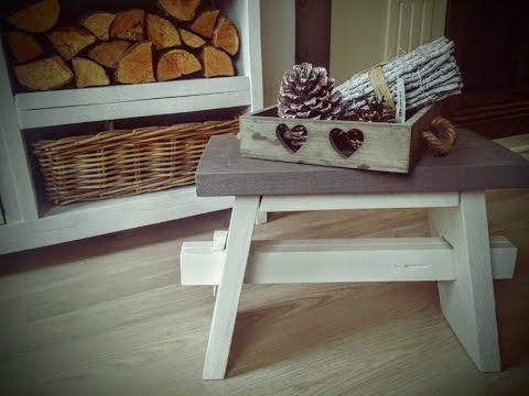 Zelf een leuk bank je van steigerhout maken youtube for Zelf meubels maken van hout