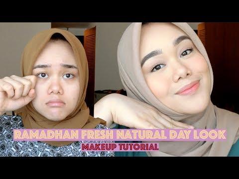 RAMADHAN FRESH NATURAL DAY LOOK MAKEUP TUTORIAL | MakeupbyFatya
