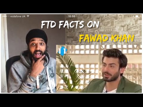 11 Incredible Facts About Fawad Khan | Reaction
