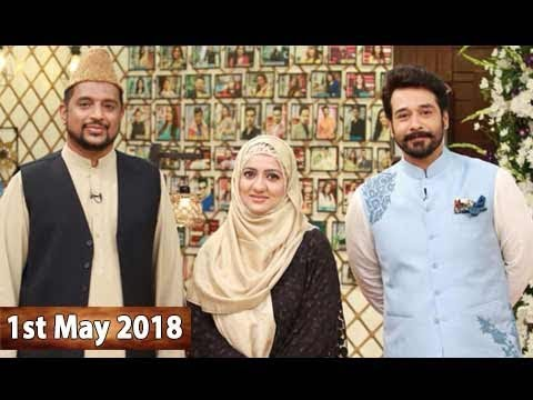 Salam Zindagi With Faysal Qureshi - 1st May 2018 -  ARY Zindagi