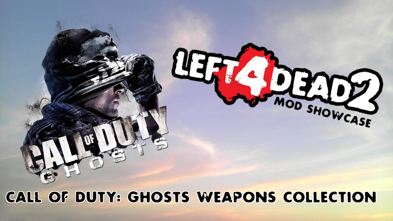 Left 4 Dead 2 Mod Showcase: Call of Duty Ghosts Weapons Collection