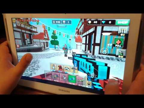Pixel Gun oynuyoruz Bölüm 1:Oyunun ana bilgileri ve modlar