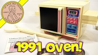 1991 Easy Bake Oven, Kenner Toys - Crazy Cake And Angel Cookies!