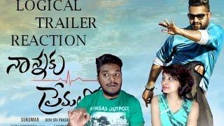 Nannaku Prematho Trailer Reaction by Debbie & Ronn   TELUGU   Jr. NTR   Rakul Preeet Singh