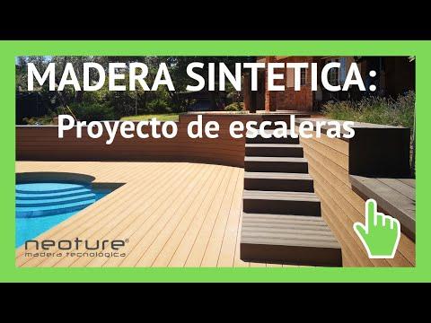 Tarima sintetica instalacion en piscina y jardin youtube for Tarimas de madera para jardin