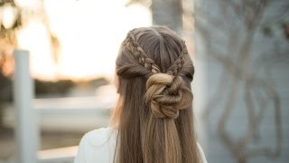 Braid Bun Combo | Cute Girls Hairstyles