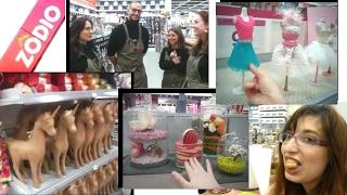 ZODIO il negozio più CREATIVO che ci sia! Compriamo e CURIOSIAMO! - Vlog