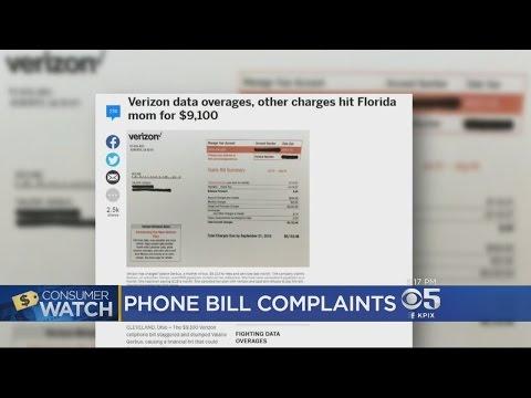 Verizon Wireless Customers Complain After Bills Spike