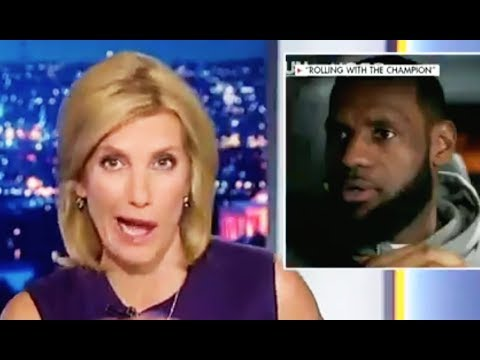 Laura Ingraham Can't Hide Her Racist Hatred Of LeBron James