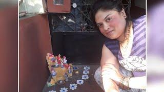 Diwali celebrations/rangoli/flower decoration