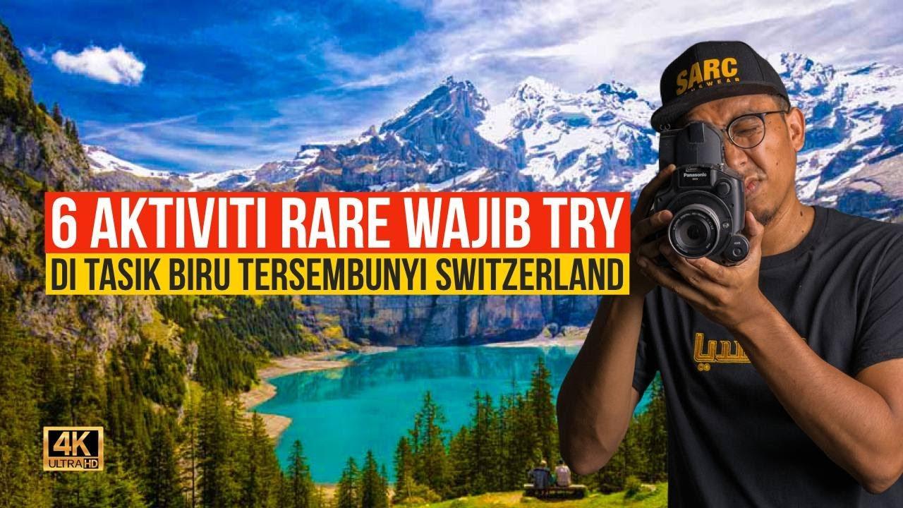 Main Gelongsor Toboggan Run Berbahaya di Banjaran Alps Switzerland!
