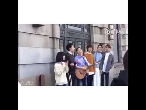 [ TRENDING ]METEOR GARDEN 2018 cast singing the original soundtrack Qing Fei Dei