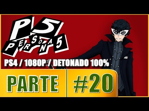 Persona 5 Gameplay Walkthrough PARTE 20 Futaba's Pyramid Palace [ PS4 1080P English ]