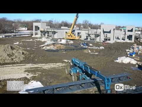 Detroit Center for Animal Care Construction Timelapse