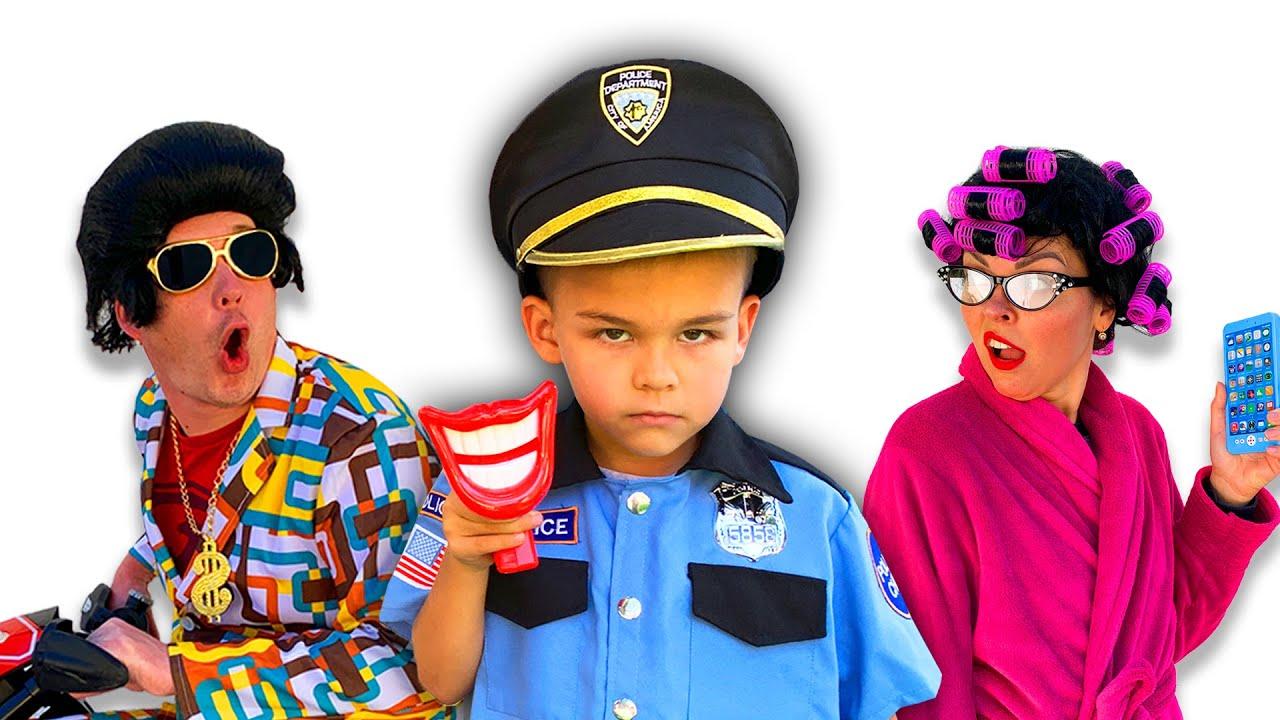 Веселі історії про Діму, поліцейського та його друзів