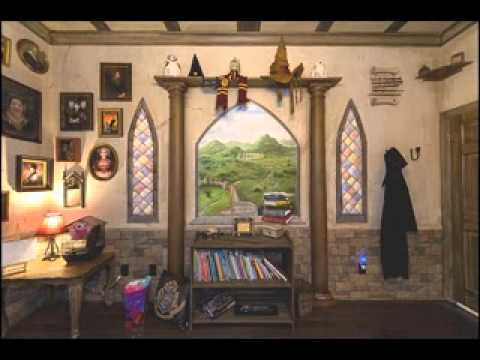Harry Potter Bedroom Design Decorating Ideas Youtube