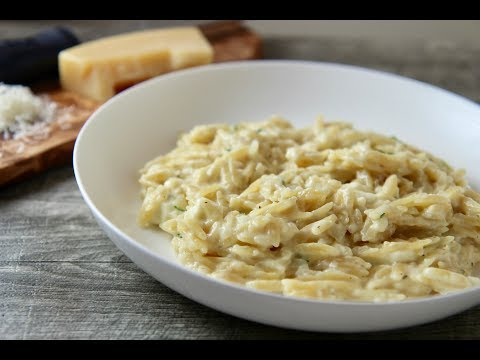 Cheesy Garlic Orzo Episode 401