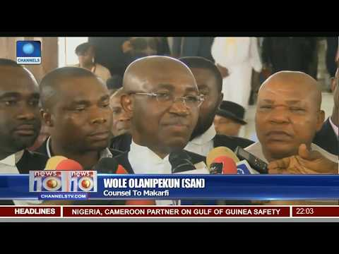 News@10: Supreme Court Validates Appeal By Makarfi-Led Committee 22/05/17 Pt.1