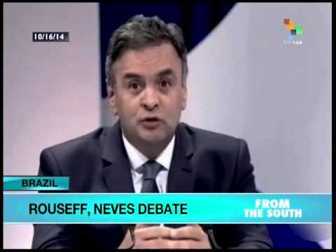 Aecio Neves vague during 2nd debate ahead of Brazil elections