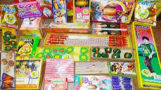 Diwali Crackers Testing | New Crackers 2019 | Different types of Crackers | Diwali Stash 2019