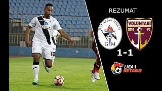 Gaz Metan 1-1 FC Voluntari (Liga Betano) 26/11/2017
