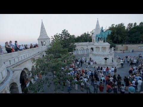 Special flash mob in Budapest, Zoltán Kodály Evening song / Kodály ...
