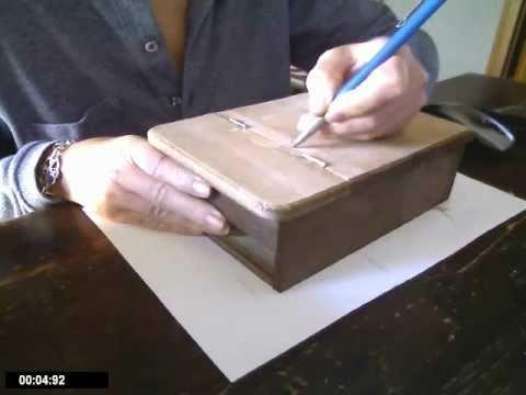 Dipingere Portagioie Di Legno : Dipingere un portagioie di legno youtube