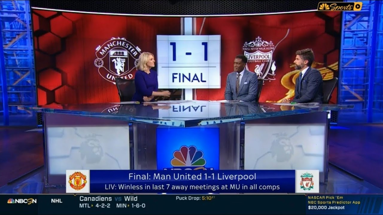 Manchester United 1-1 Liverpool Post Match Analysis & All Goal - Tim Sherwood REACTION