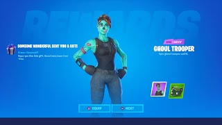 FORTNITE GHOUL TROOPER RETURNING! FORTNITE GHOUL TROOPER ITEM SHOP! FORTNITE GHOUL TROOPER SKIN