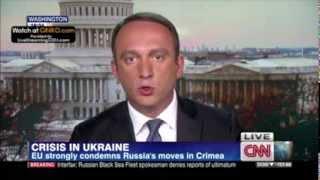 Gega Mgaloblishvili on CNN International