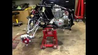 08 honda 400ex 440ex restoration overhaul build 440ex big bore