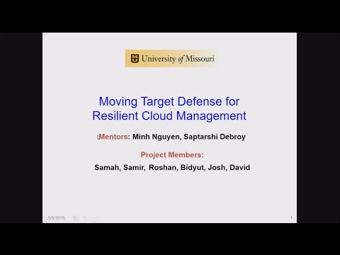 Moving Target Defense: Cloud Computing I Project (Spring 2016)