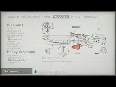 Infinite Upgrade Kits, Money, Items, Crafting - Wolfenstein II: The New Colossus